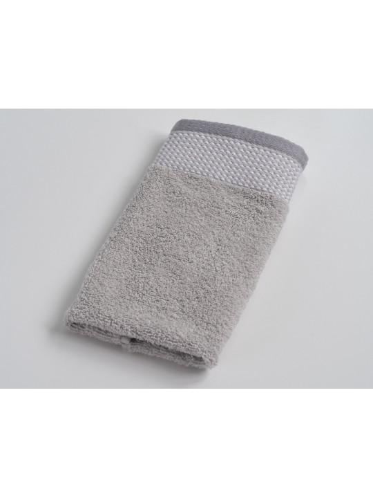 Махровое полотенце 30*50 см, серый