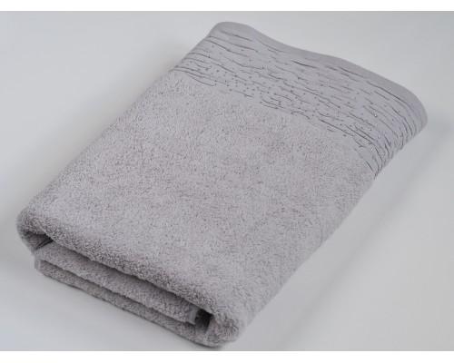 Махровое полотенце Diamond 70*140 см, серый