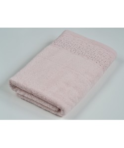 Махровое полотенце  Diamond 70*140 см, розовый персик