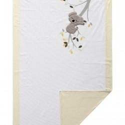 Комплект постельного белья Koala с пледом
