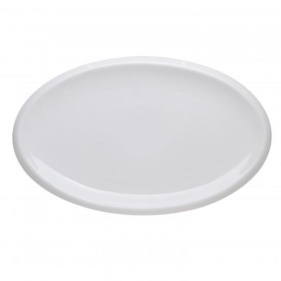 Блюдо овальное 30*18,5 см, Royal White