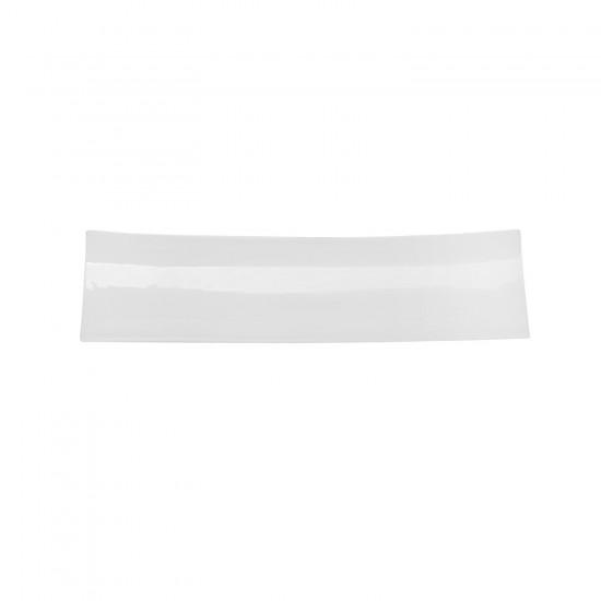 Блюдо прямоугольное 33*9 см, Royal White Tudor England