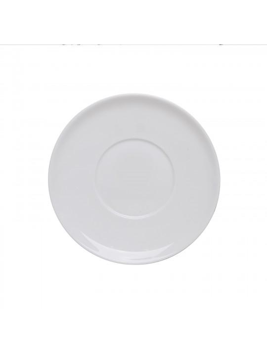 Блюдце 13 см, Royal White