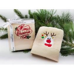 Подарочный набор полотенец 2 шт. Christmas