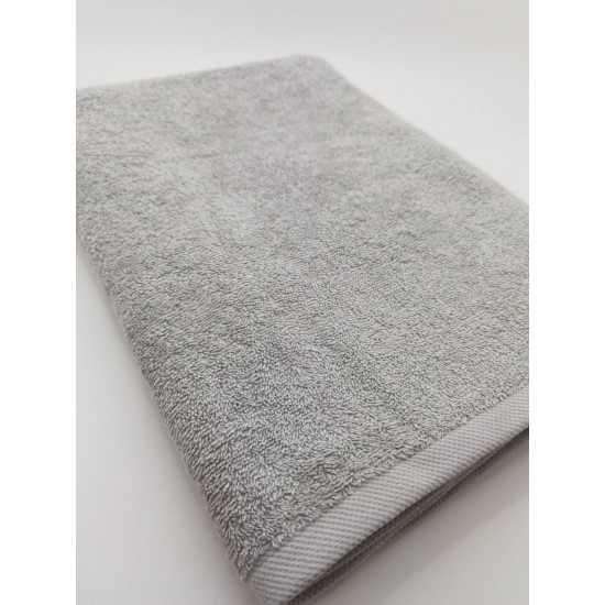 Полотенце 70*140, plain grey