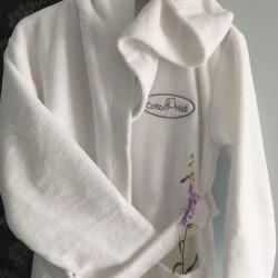 Халат с вышивкой (для отелей)