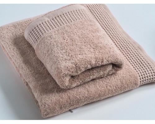 """Махровое полотенце """"Стайл"""", 70*130 см, бежевый"""