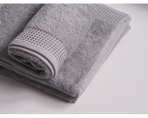 """Махровое полотенце """"Стайл"""", 70*130 см, серое"""
