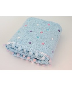 "Махровое полотенце ""Dots"", 50*85 см"