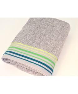 """Махровое полотенце  """"Классика"""", 50*90 см, серое"""