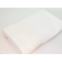 """Махровое полотенце """"Симпли"""", 60*120 см, белое"""