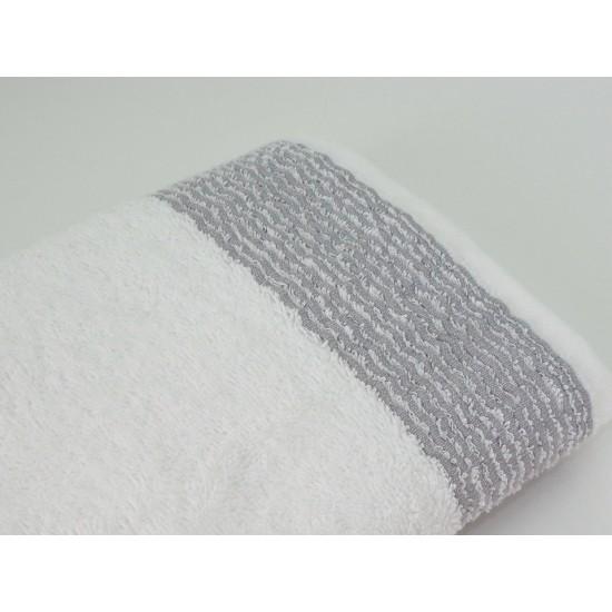 "Махровое полотенце  ""Optic white"", 70*140 см"