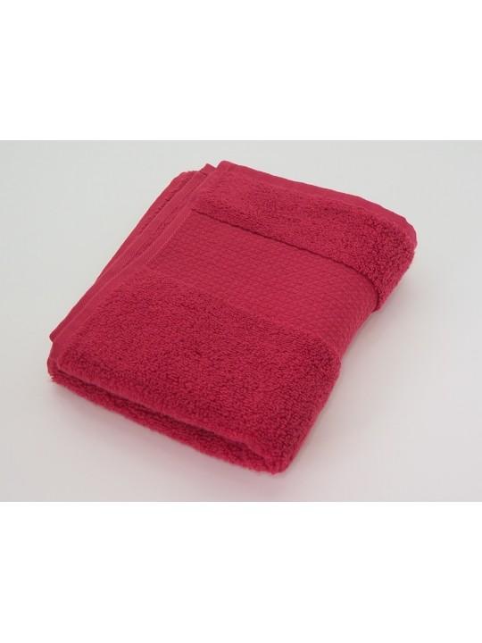 "Махровое полотенце ""Мягкость"" 35*80 см, розовое"