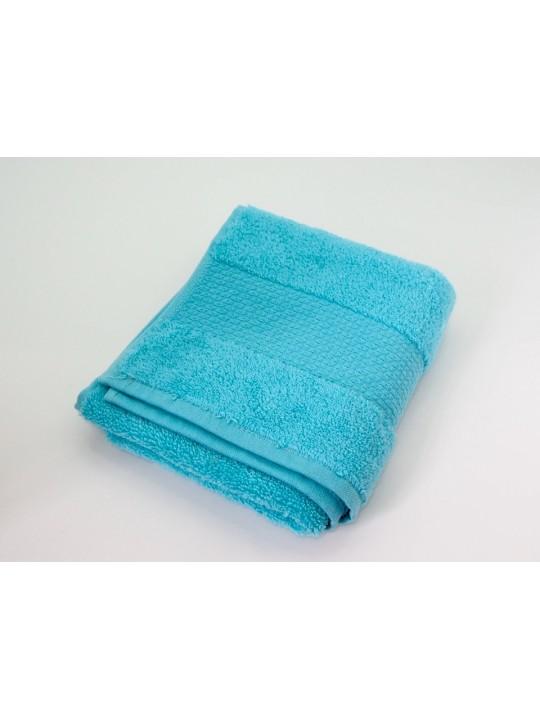 """Махровое полотенце """"Мягкость"""" 35*80 см, голубое"""