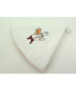 Кухонное полотенце, д.50 см, белое