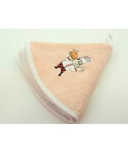 Кухонное полотенце, д.50 см, розовый персик
