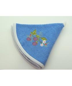 Кухонное полотенце, д.50 см, голубое