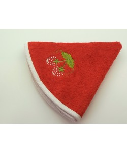 Кухонное полотенце, д.50 см, красное