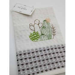Кухонное полотенце 45*65 см, cactus