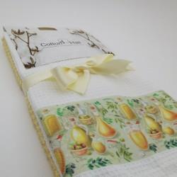 Набор кухонных полотенец 40*60 см, 2 шт. lemon